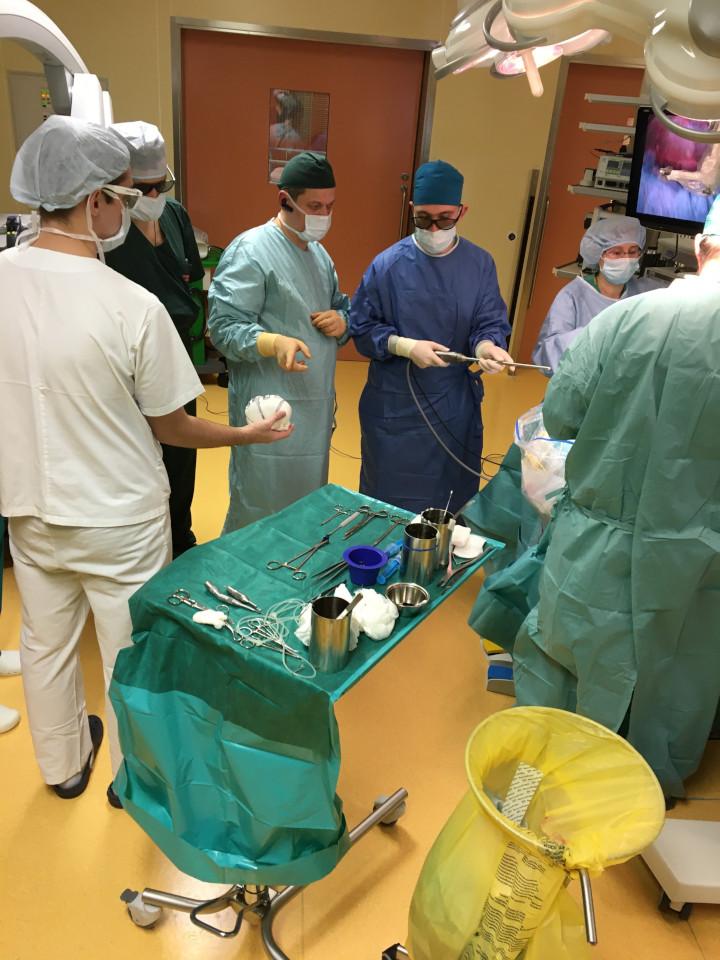 подготовка к 3D-операции